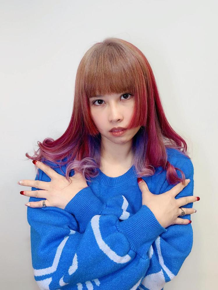 髮型創作/諾亞藝術造型 三民店 / 羅羅黎。圖/StyleMap提供