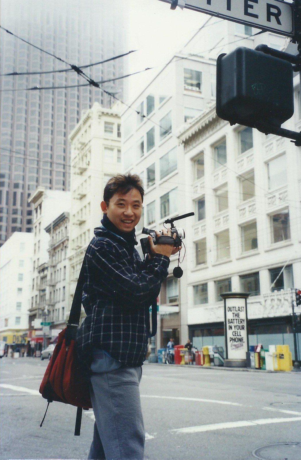 已故導演陳俊志。圖/台北電影節提供