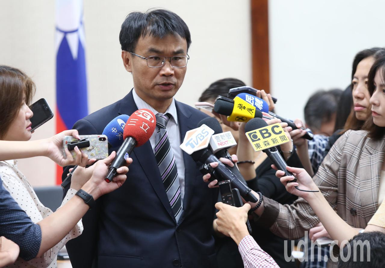 農委會主委陳吉仲。 聯合報系資料照片/記者曾學仁攝影
