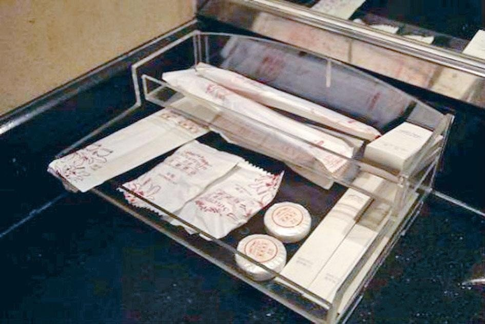 7月起,上海飯店不提供「六小件」。香港星島日報