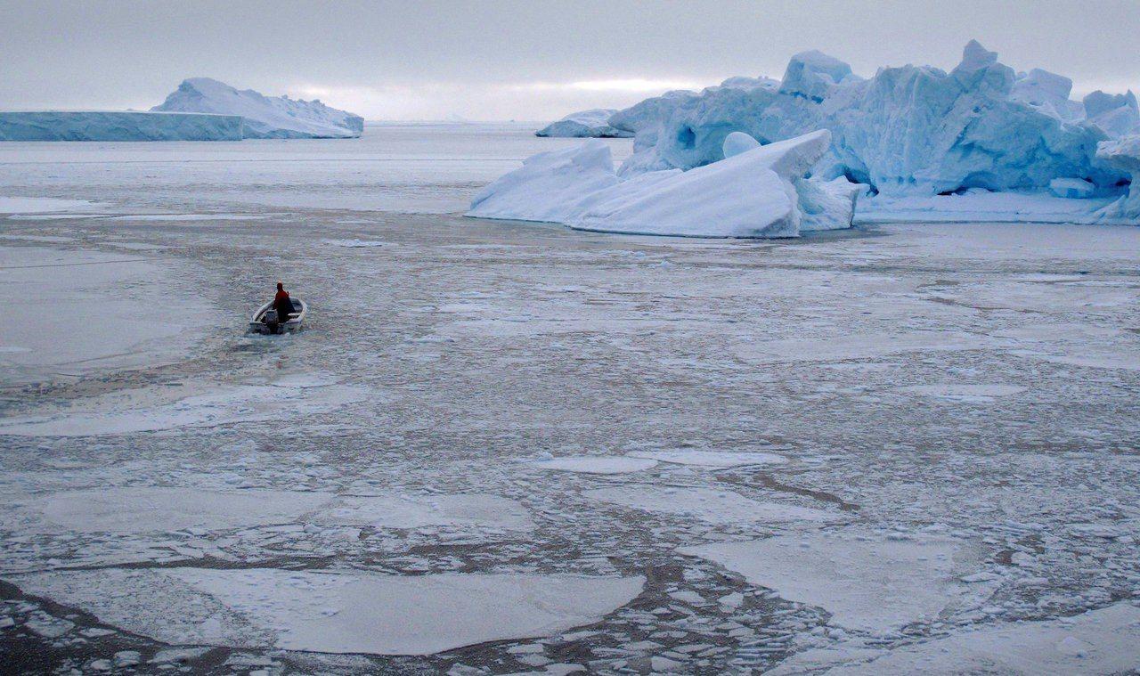 北極海氣溫在上周末達攝氏29度。路透