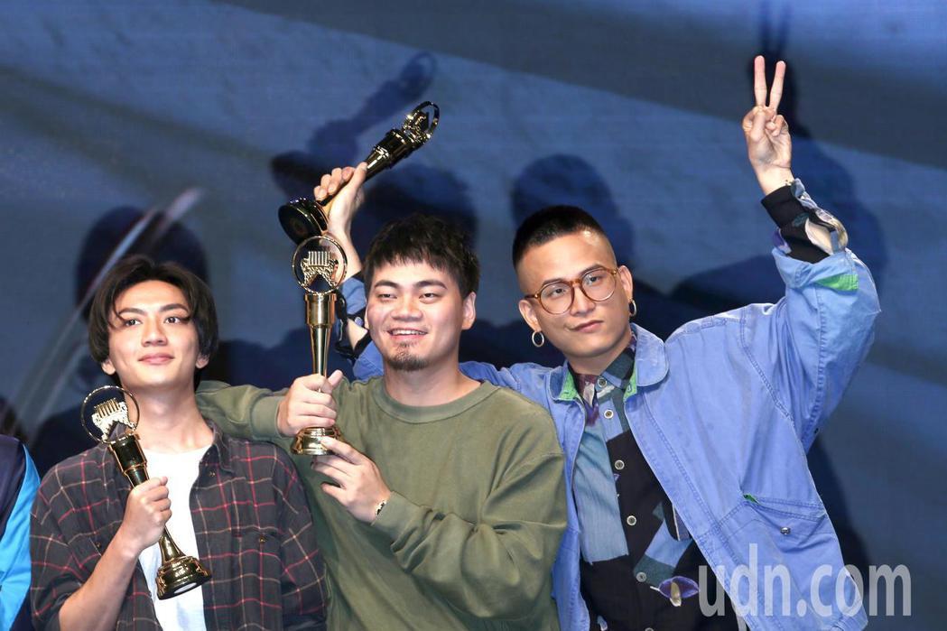 茄子蛋入圍第30屆金曲獎年度歌曲。記者蘇健忠/攝影