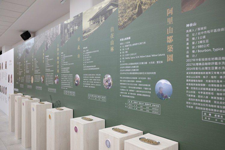 台灣咖啡豆在全球市場卻以量少質精著稱。記者黃仕揚/攝影