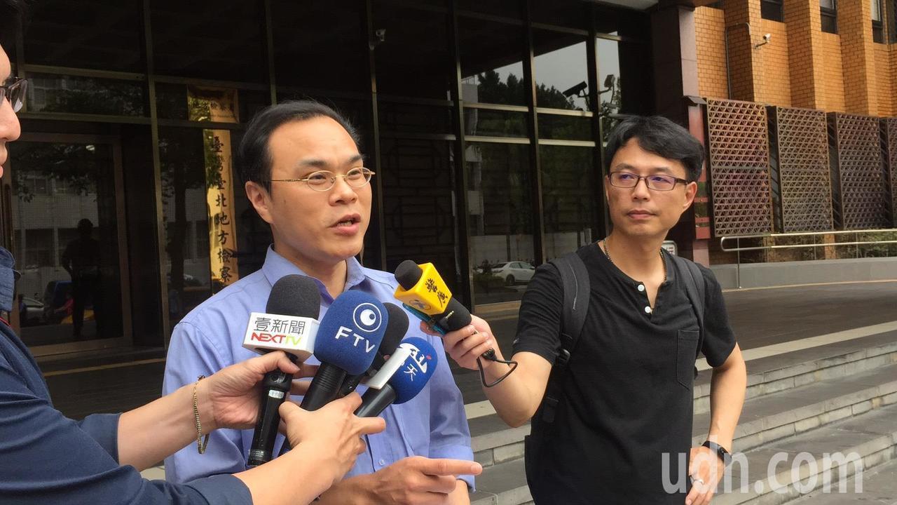 劍青檢改成員、台北地檢署檢察官林達表示,監委故意找碴,刻意誤導說印章是「贓物」,...