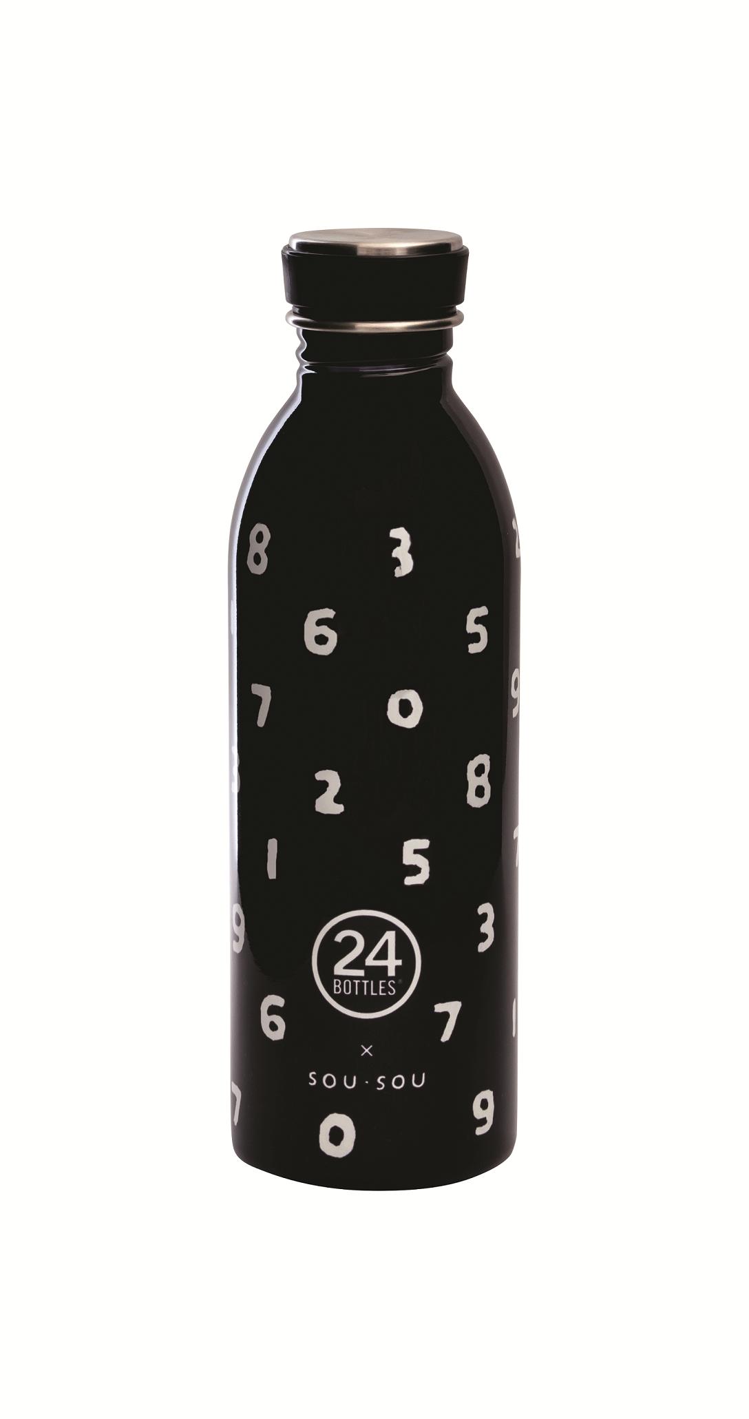 SOU‧SOU X 24bottles獨家聯名城市水瓶,950元。圖/誠品提供
