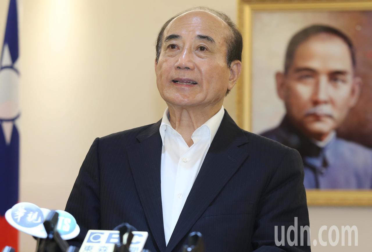 國民黨中常會正式通過總統提名特別辦法與相關要點,立法院前院長王金平(圖)下午表示...