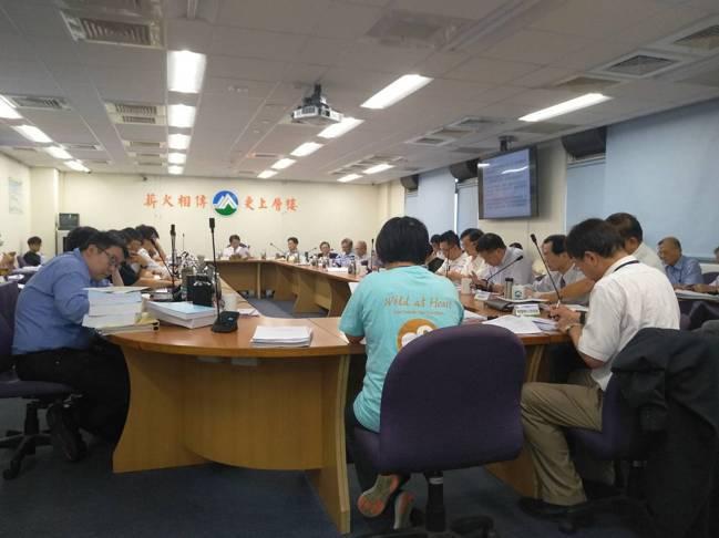 環保署15日召開環評大會。記者翁至威/攝影