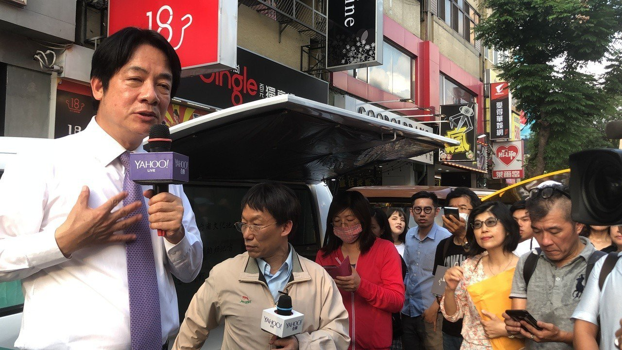 賴清德呼籲初選讓人民作主,選出代表民進黨的總統候選人。記者陳秋雲/攝影