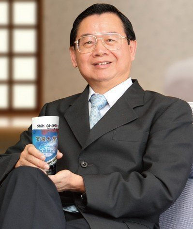 實踐大學校長陳振貴。本報資料照片