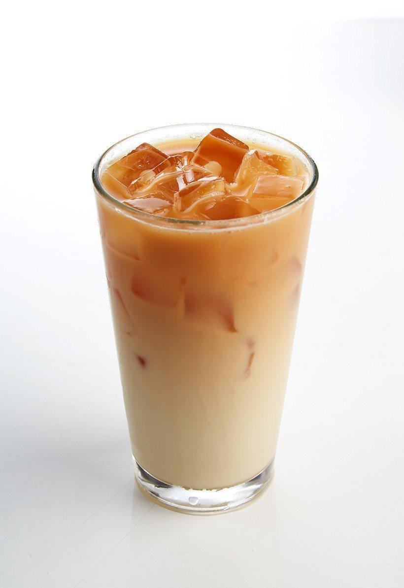 日舒油頭決對植愛你烏龍拿鐵,單杯售價79元,任選2杯150元。圖/SOGO提供