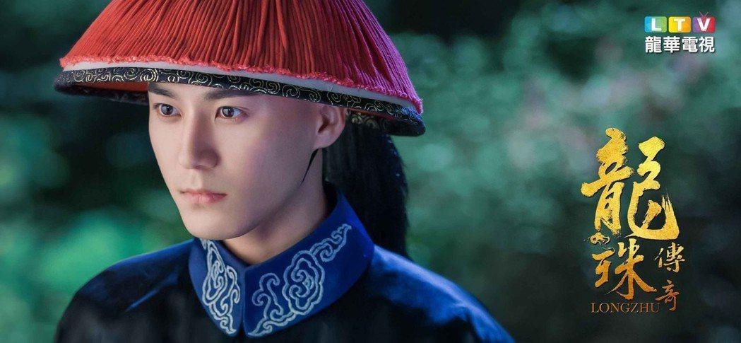 茅子俊飾演「朱慈煊」,守護在女主身邊。圖/龍華電視提供
