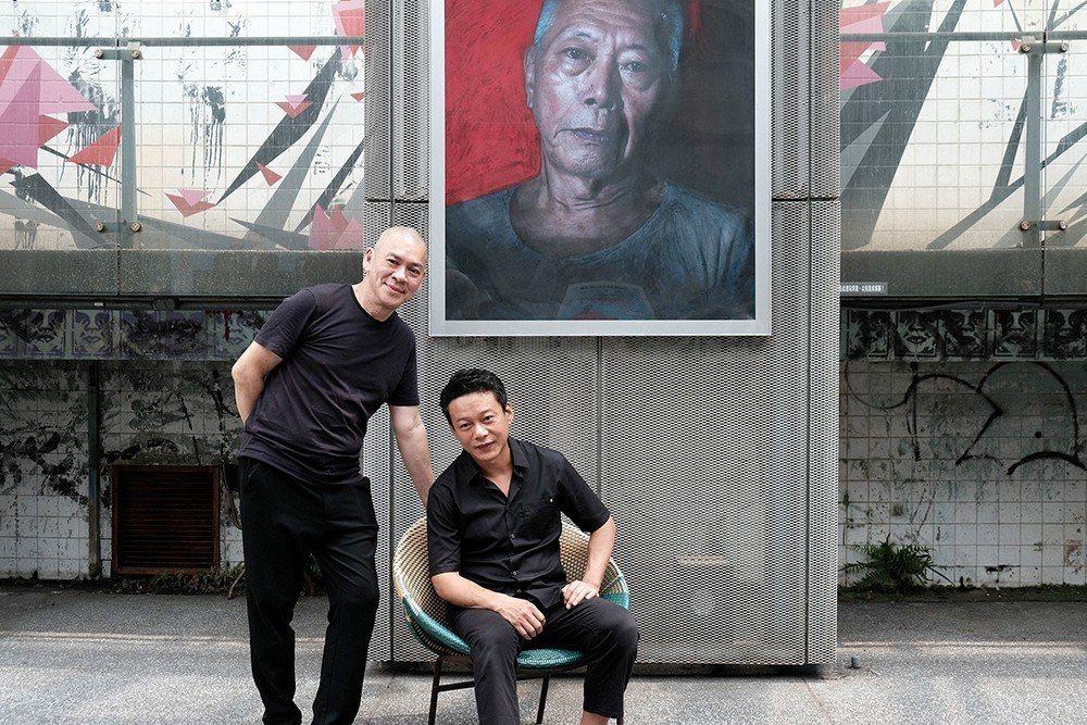 蔡明亮與李康生新作重回台灣大銀幕,努力拚預售。圖/汯呄霖提供