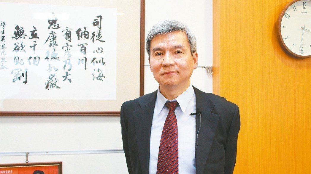 國家衛生研究院副院長司徒惠康。 圖/汪勝宏攝影