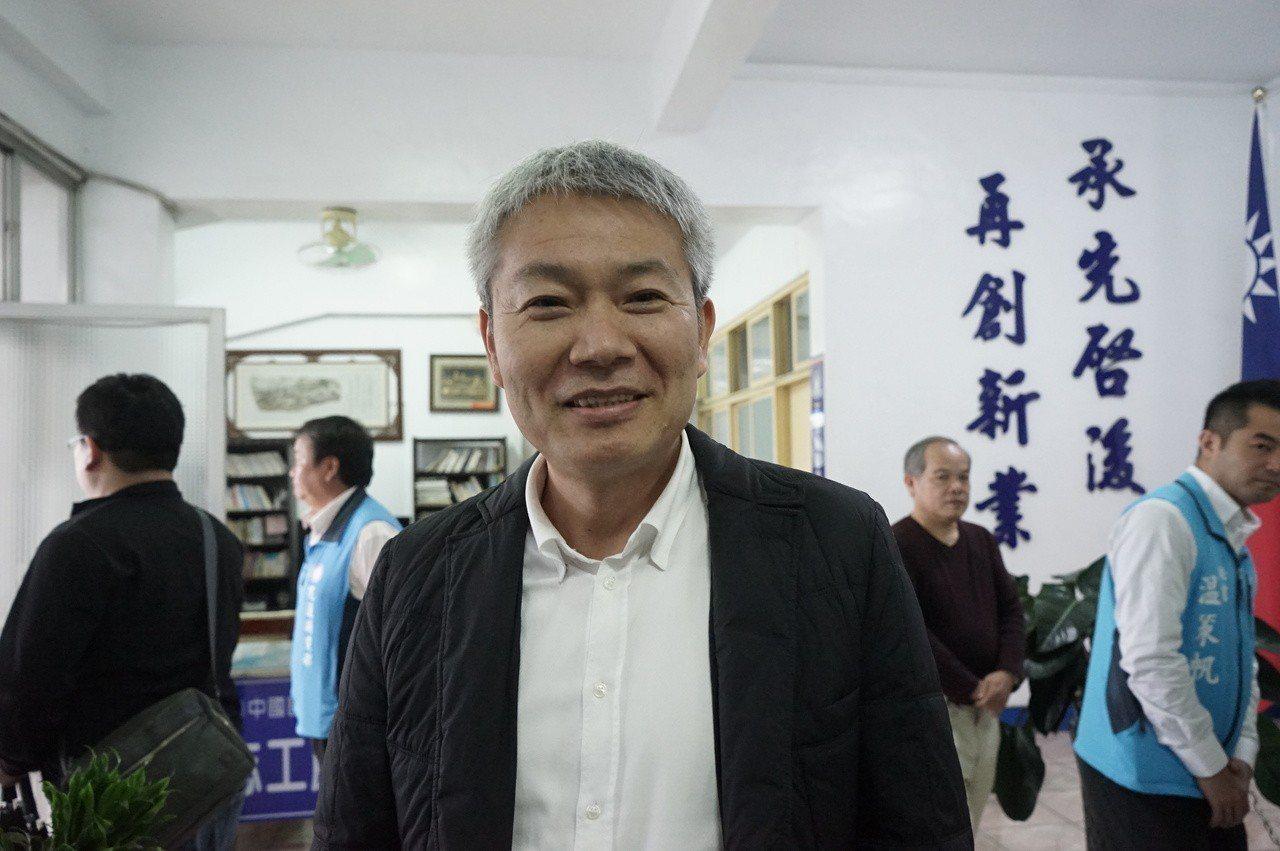 國民黨花蓮立委黨內初選擬參選人林有志。圖/聯合報系資料照片
