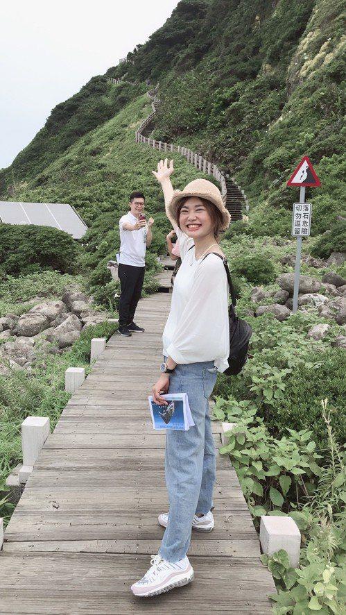 有「台灣龍珠」之稱的基隆嶼,封4年半要開放了,島上怎麼拍都美。記者游明煌/翻攝