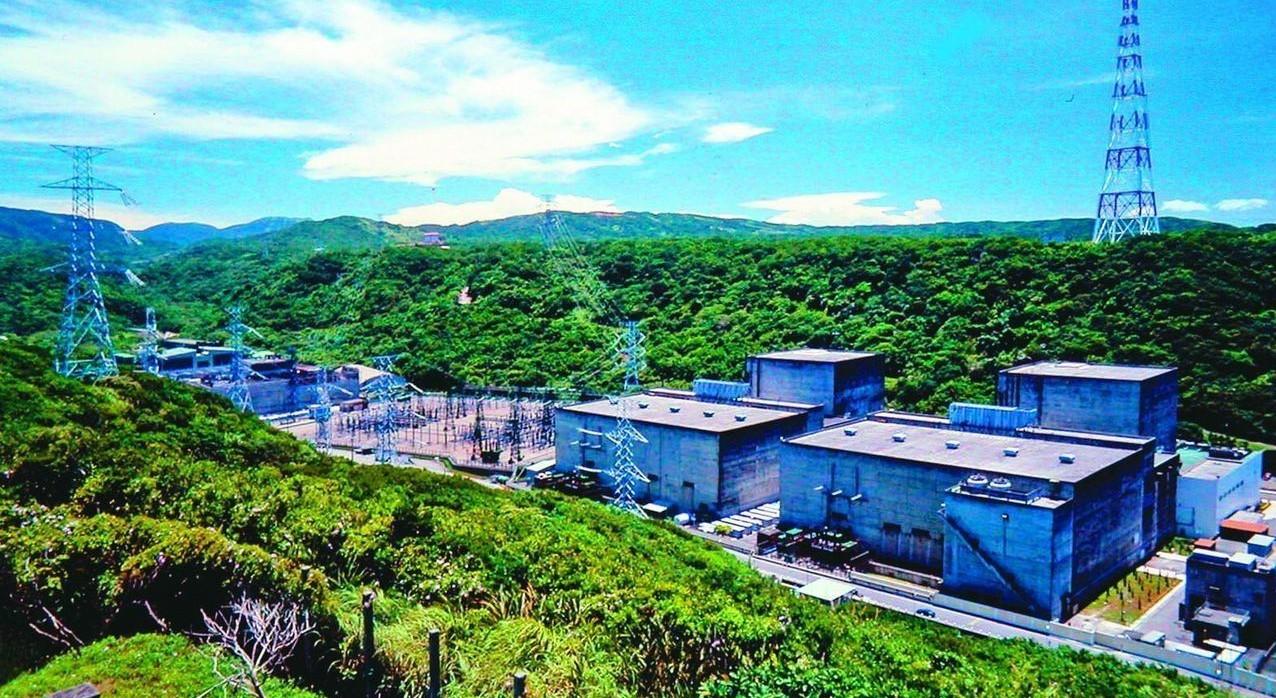 核一廠除役通過環評,圖為核一廠1號機組。 圖/台電提供