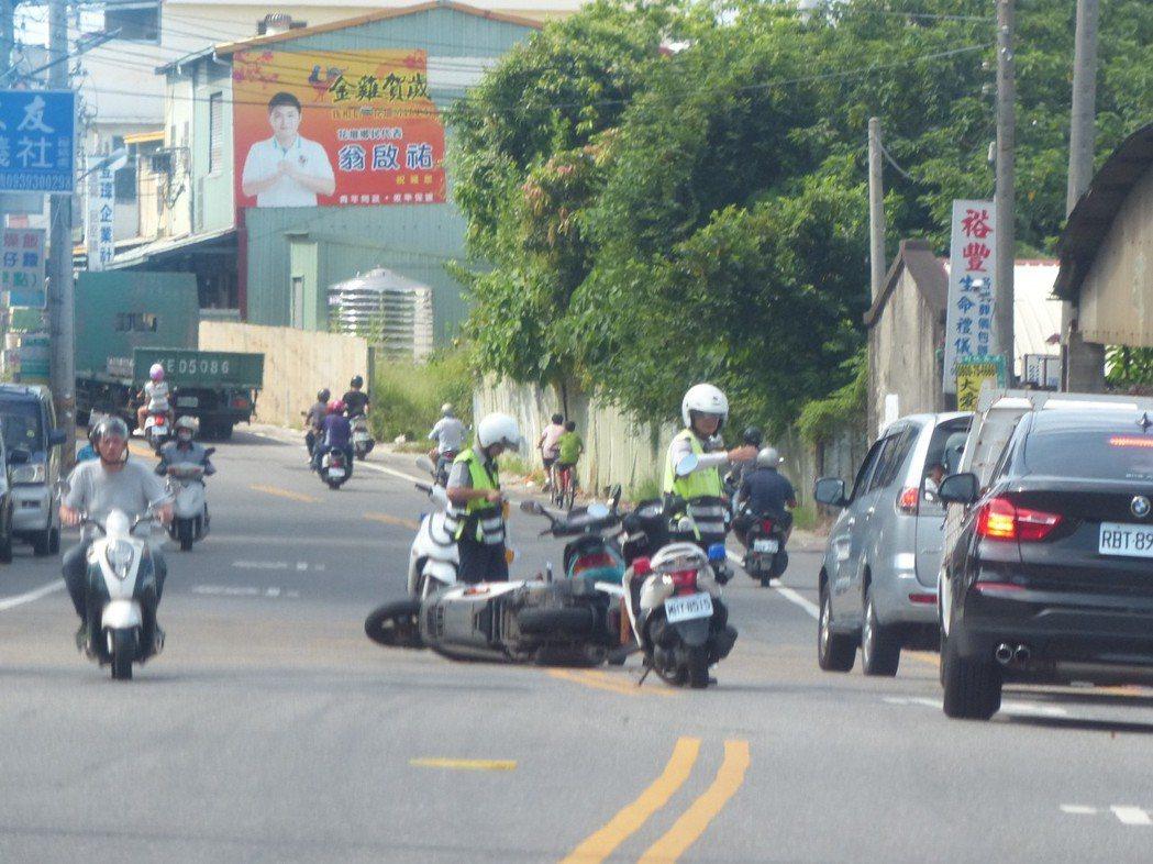 車禍發生後,除了留下證據自保外,最好先報警處理。 圖/聯合報系資料照片
