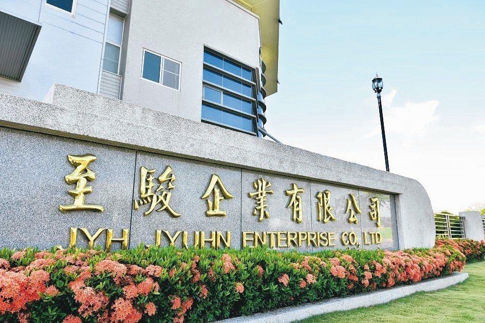至駿公司位於台南科技工業區的生產基地。 至駿企業/提供
