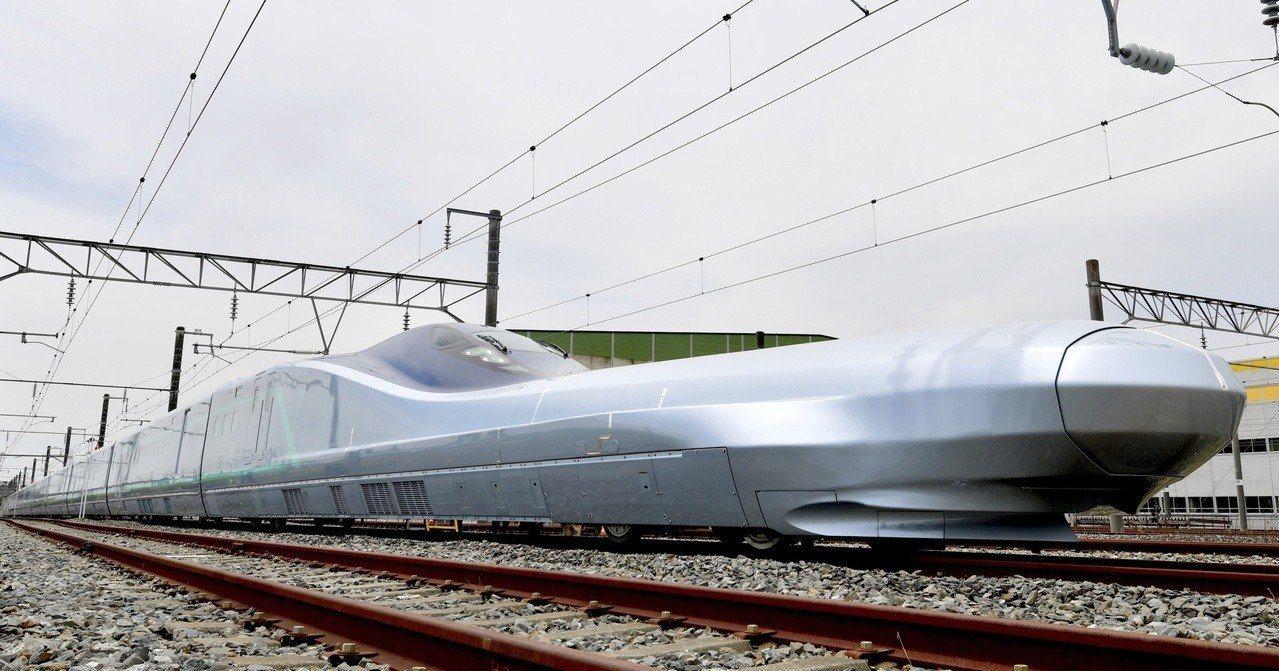 全球最快子彈列車Alfa-X。美聯社