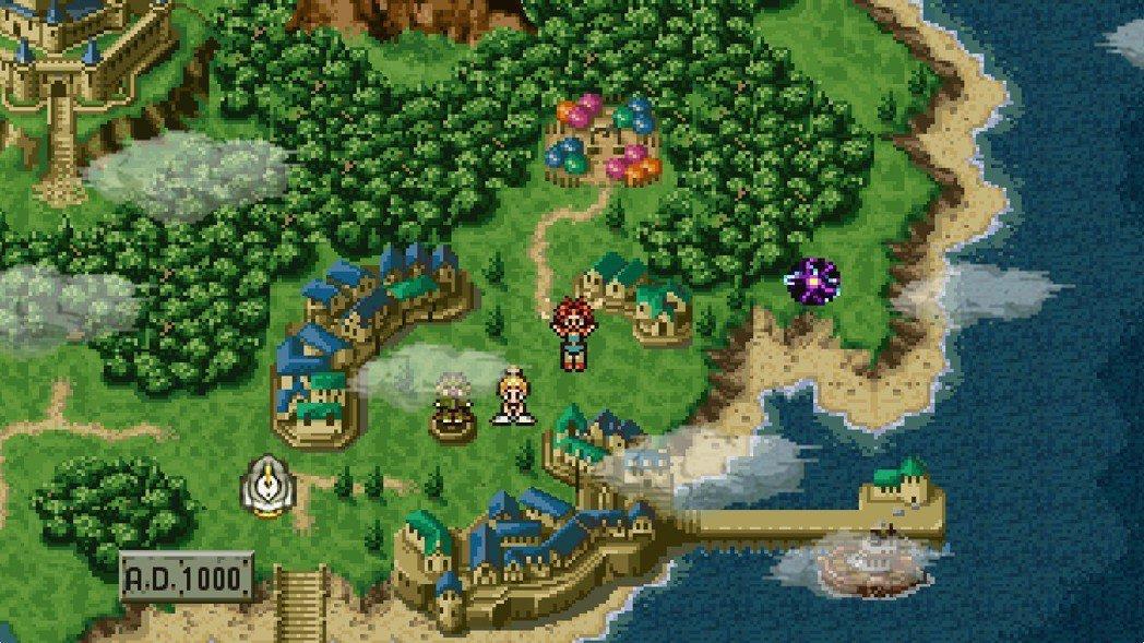 1995 年由 Square 所推出的角色扮演遊戲《超時空之鑰》被眾多日本民眾推...