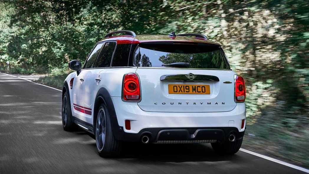 Mini John Cooper Works Countryman。 摘自MIN...