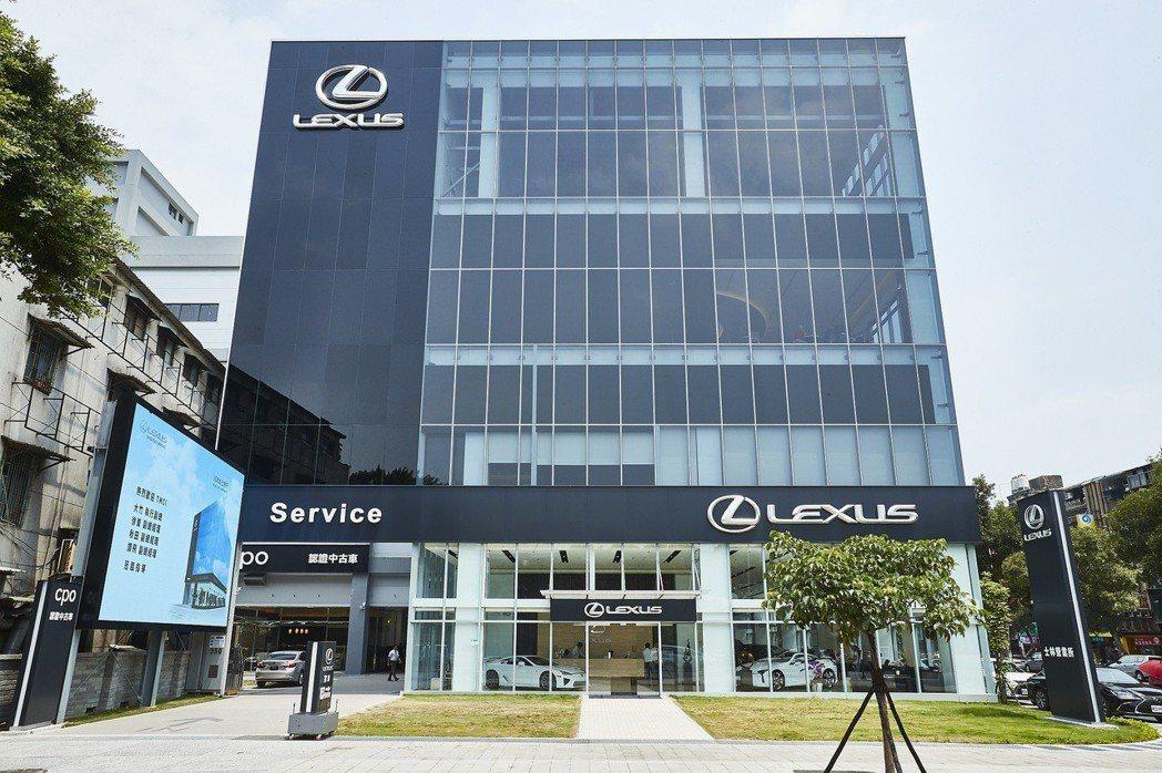 全新多功能展示暨服務中心-LEXUS士林據點。 圖/和泰汽車提供