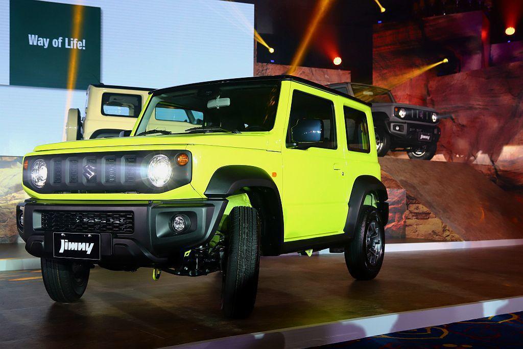 全新Suzuki Jimny今年臺灣750輛配額已經提前完售,現在累積接單更近2...