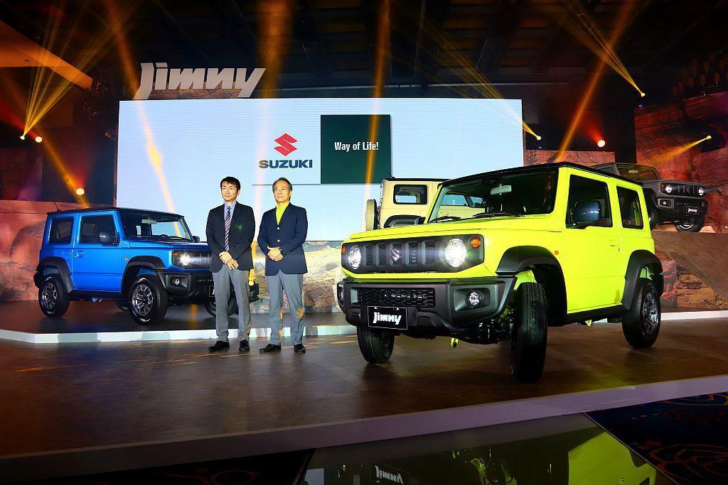 各界期待已久的全新第四代Suzuki Jimny正式在臺灣發表上市。 記者張振群...