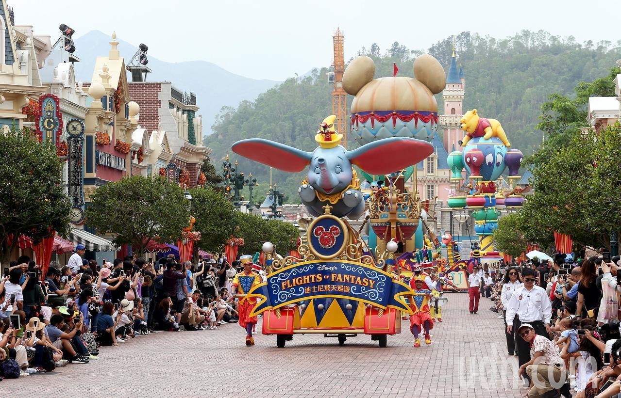 可樂旅遊推出香港迪士尼樂園3天2夜自由行優惠8,888元起。圖/本報系資料照