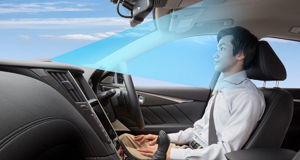 ProPILOT 2.0透過車內鏡頭偵測駕駛是否專注於路況。 摘自Nissan