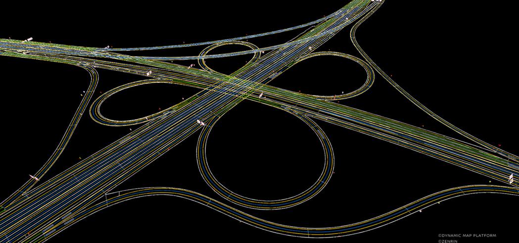 ProPILOT 2.0採用各種鏡頭、雷達、聲納以及GPS定位和3D高清地圖互相...