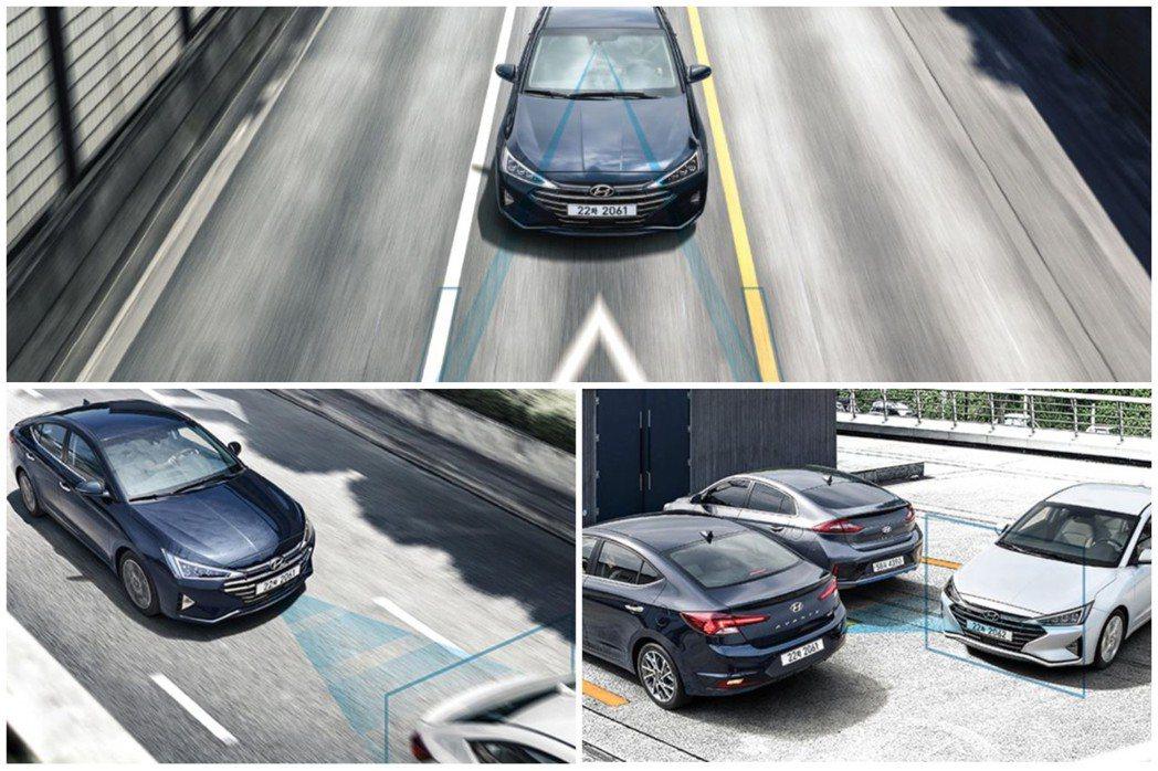 小改款Hyundai Elantra導入Hyundai SmartSense主動...