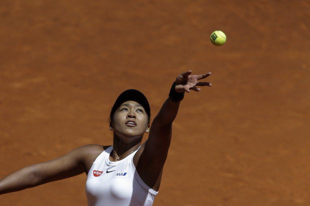 女子網球選手大坂直美。 圖/美聯社