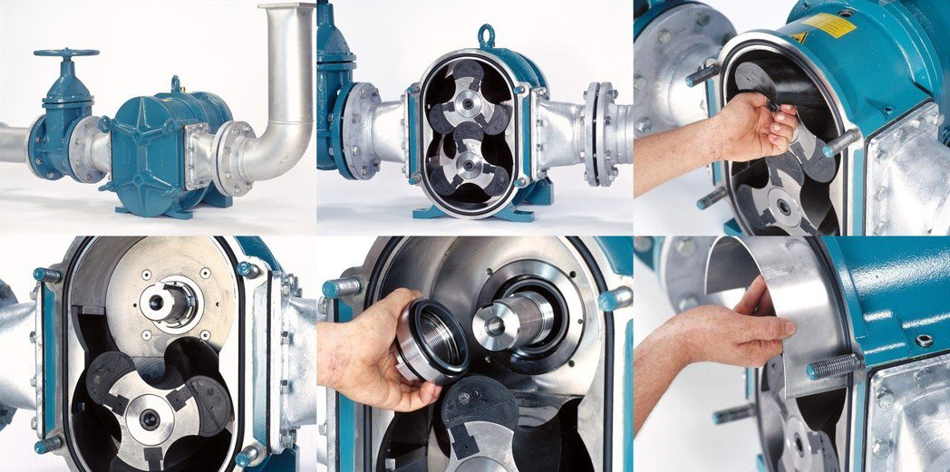 Boerger Rotary Lobe Pump雙軸旋轉式凸輪泵浦,具備MIP線...