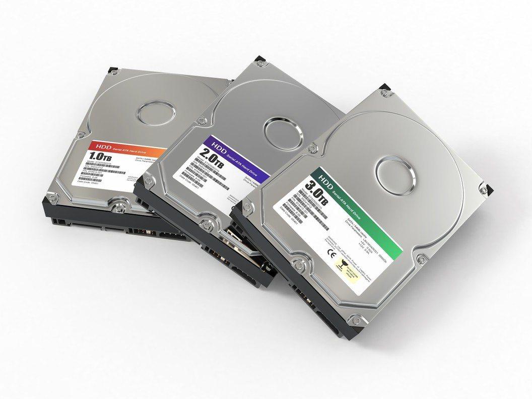 傳統機械硬碟HDD。圖/Ingimage