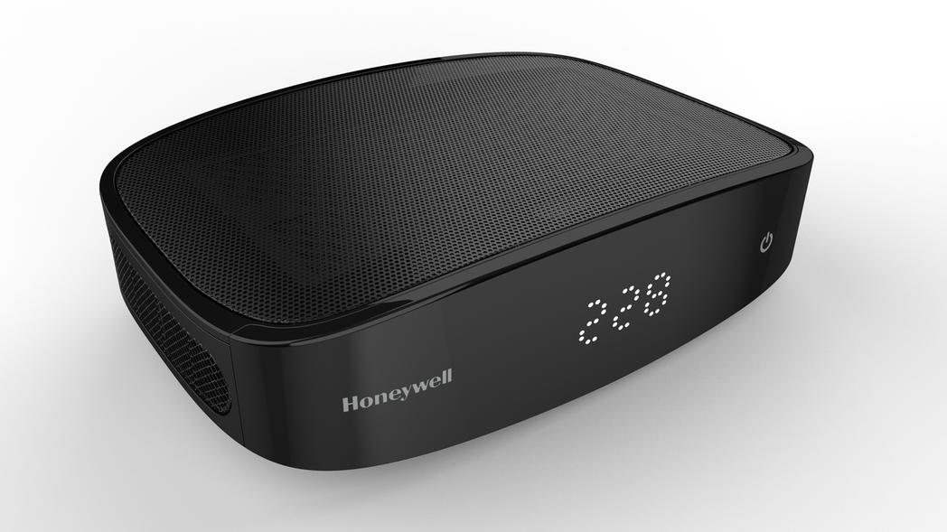 Honeywell PM2.5顯示車用空氣清淨機。 圖/恆隆行提供