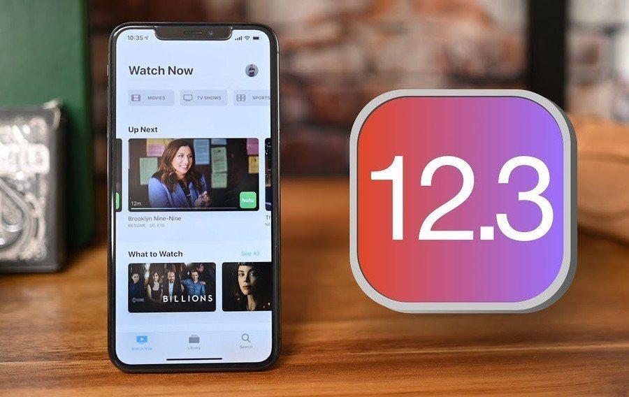 蘋果公司近日釋出新版iOS 12.3手機系統,支援交通卡及Apple TV相關功...