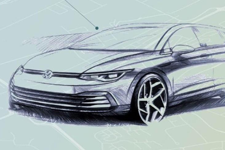 全新第八代Volkswagen Golf內裝曝光! 實車將於十月發表