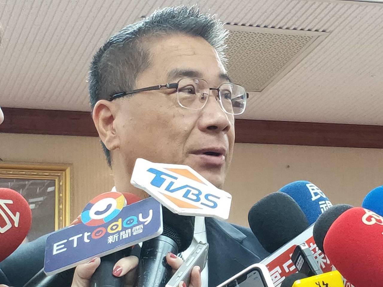 內政部長徐國勇。記者徐偉真/攝影