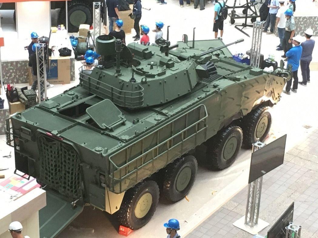 陸軍司令部去年下達30公厘機砲型雲豹甲車生產的決心,根據國防部規劃,計畫在今年量...