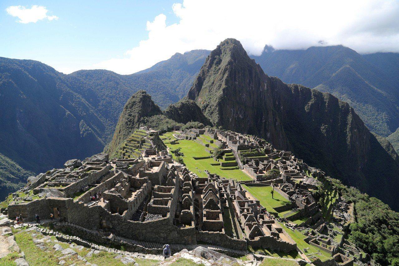 秘魯知名景點馬丘比丘遺址。歐新社