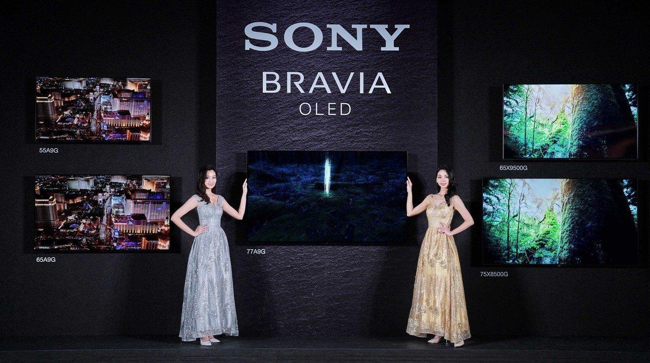 Sony BRAVIA 2019系列機種正式在台亮相。圖/Sony提供