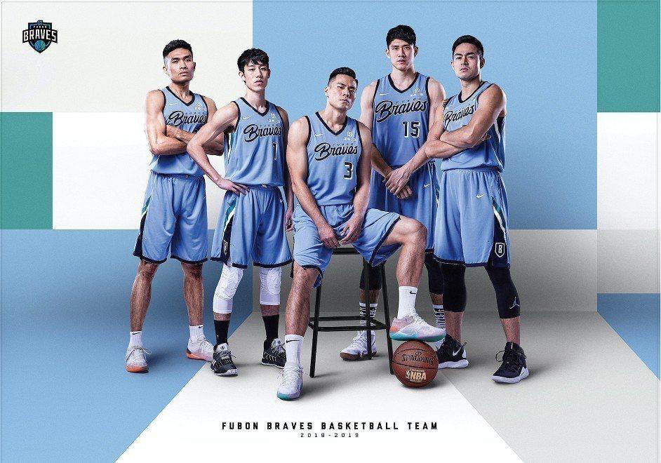 富邦勇士籃球隊。圖/富邦勇士提供