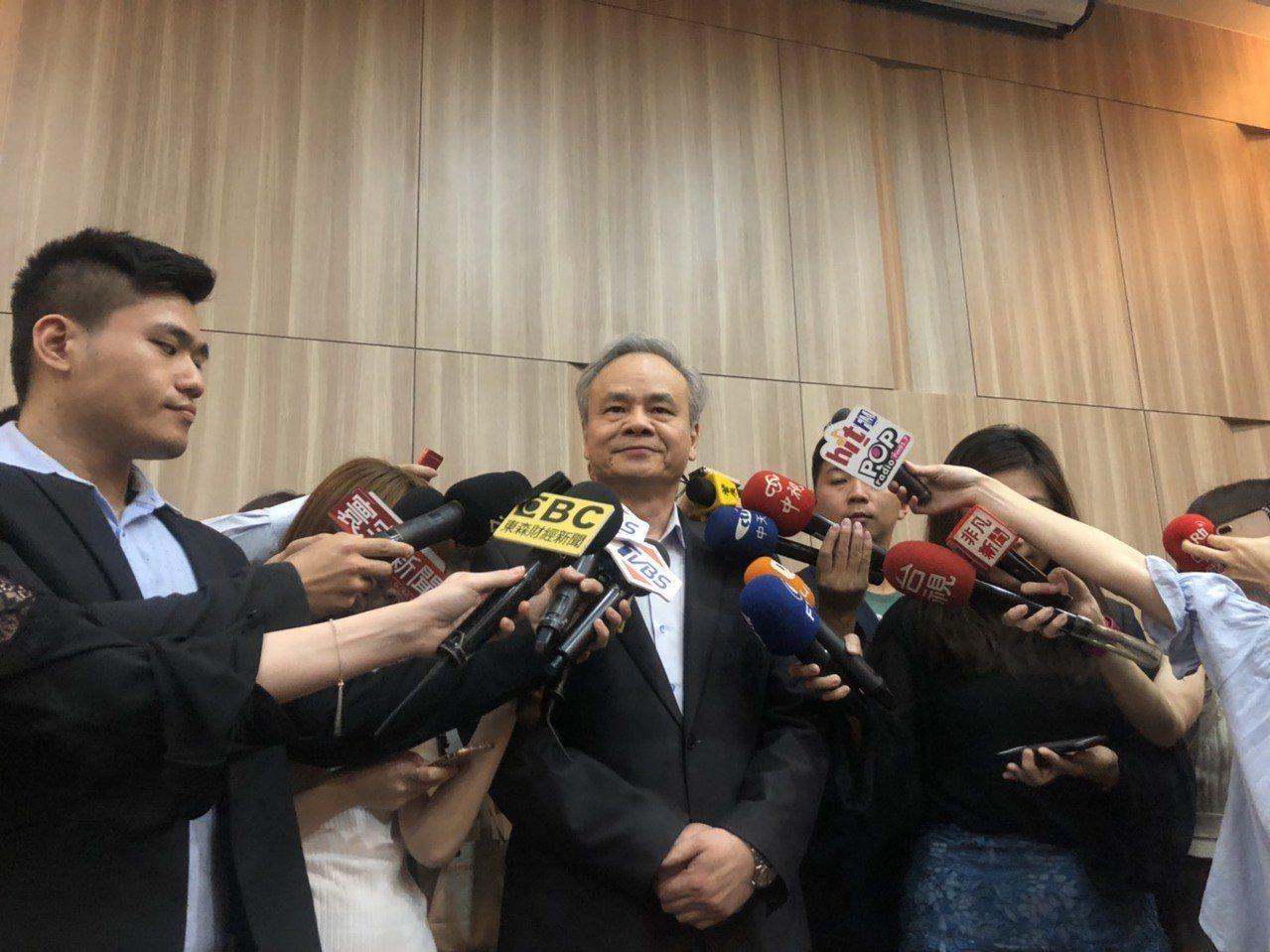 中華郵政總經理陳憲着。記者侯俐安/攝影