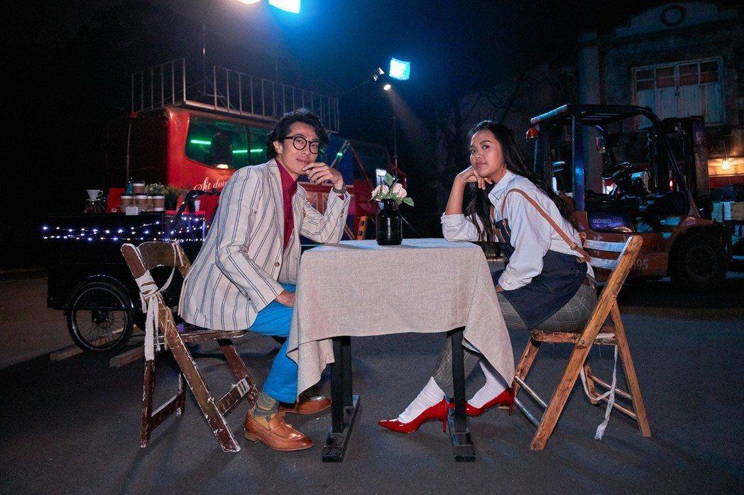 宋楚琳、馬念先(右)。圖/寰亞唱片提供