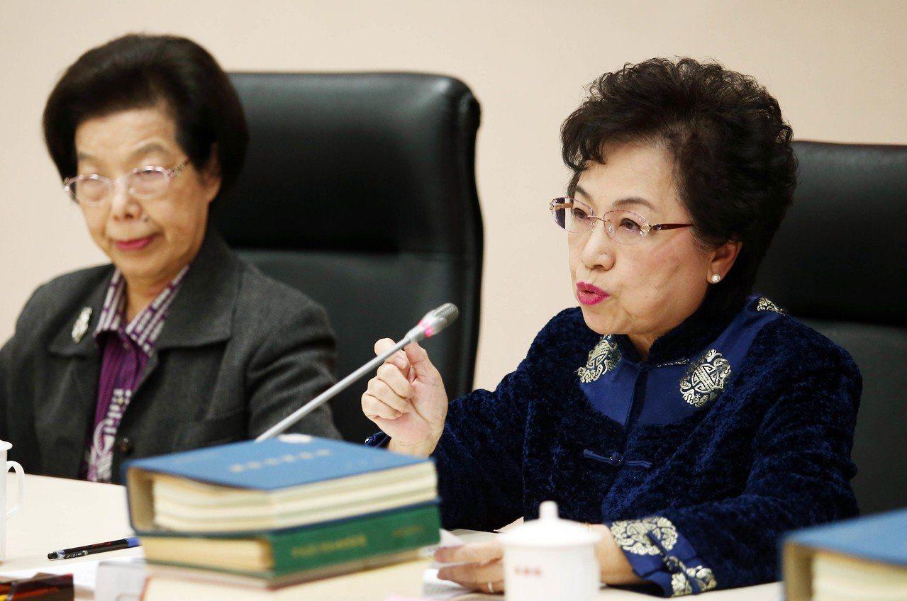 監委江綺雯(右)。圖/聯合報系資料照片