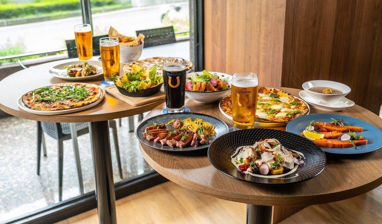 柏克金啤酒餐廳多款與啤酒相呼應的餐點。圖/柏克金餐酒集團提供