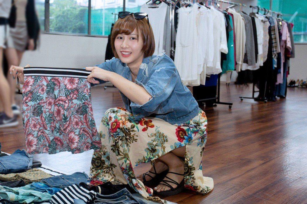 凱渥名模舉行時尚共享二手物拍賣會。圖/凱渥提供
