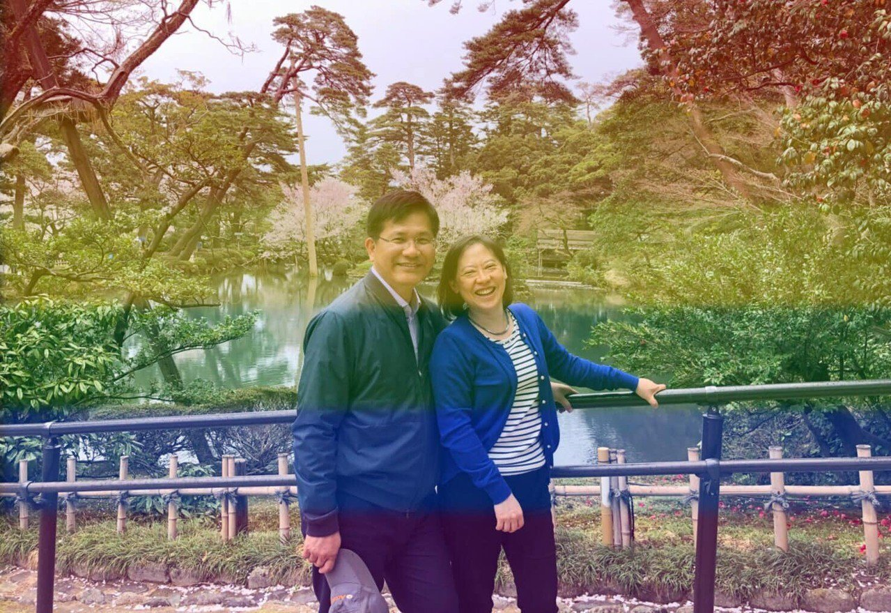 交通部長林佳龍貼文支持同婚專法。圖/取自林佳龍臉書