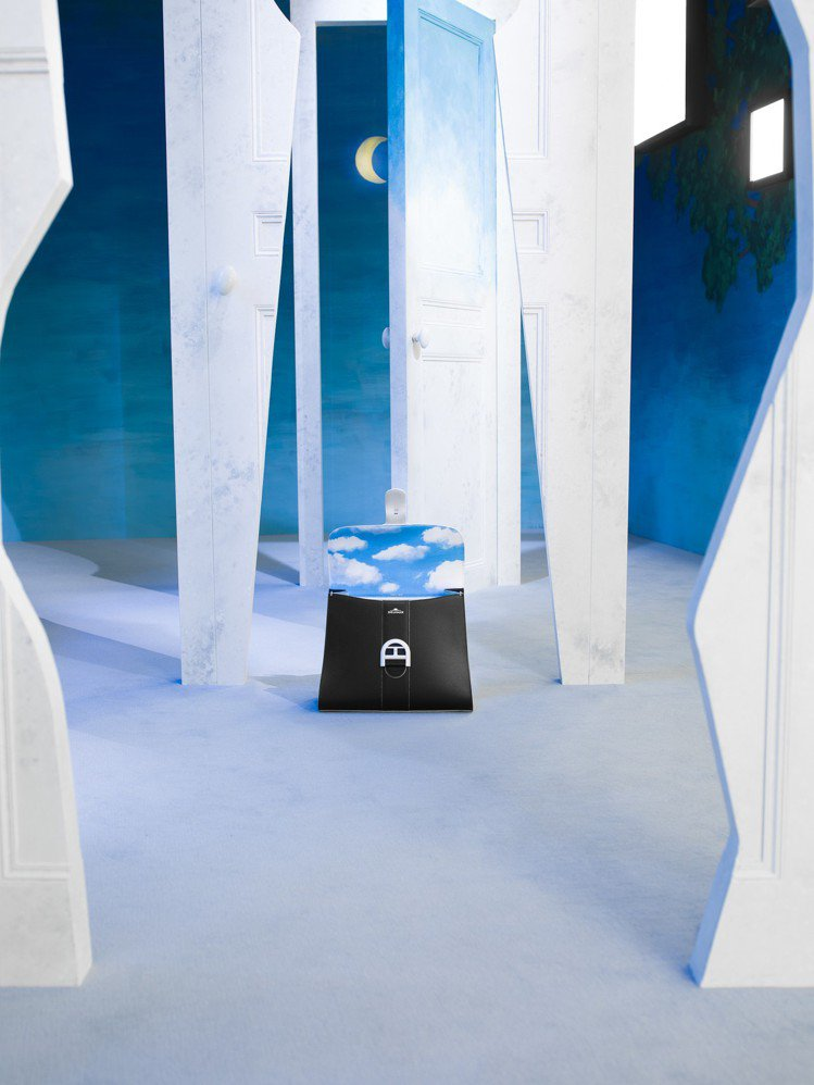 Magritte雲朵內襯Brillant包款中型牛皮肩背包,售價23萬5,300...